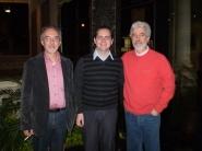 Junto a Fernandez y Villadangos