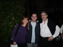 Con Marcela Sfriso y Walter Ujaldón. Masterclass XXI. 2008
